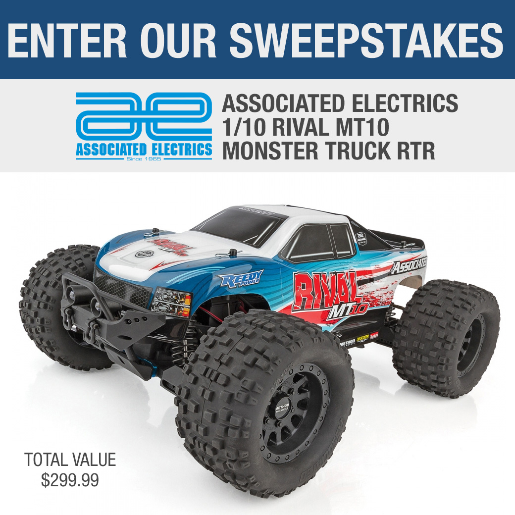 Associated Electrics Rival MT10 Monster Truck Sweepstakes [a $299 value] Giveaway Image