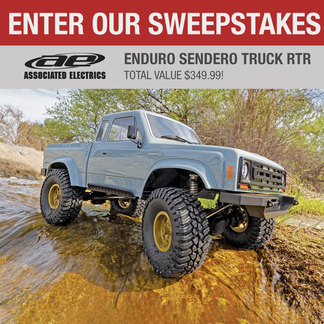 Win an Associated Electrics Enduro Sendero Truck RTR r/c car worth $349 Giveaway Image