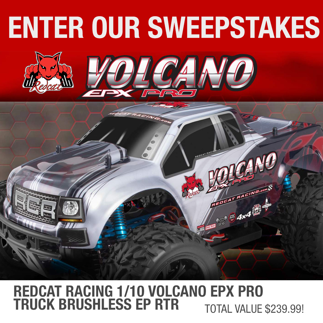 Enter for a chance to win a radio controlled truck, worth $239 Giveaway Image