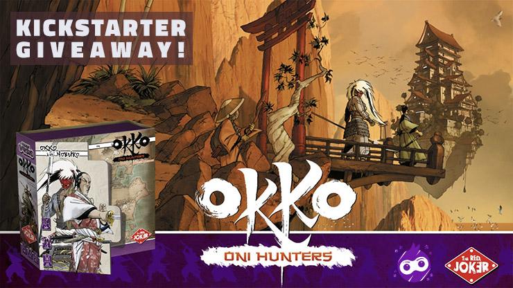 3 winners! Win the board game Okko - Oni Hunters Giveaway Image