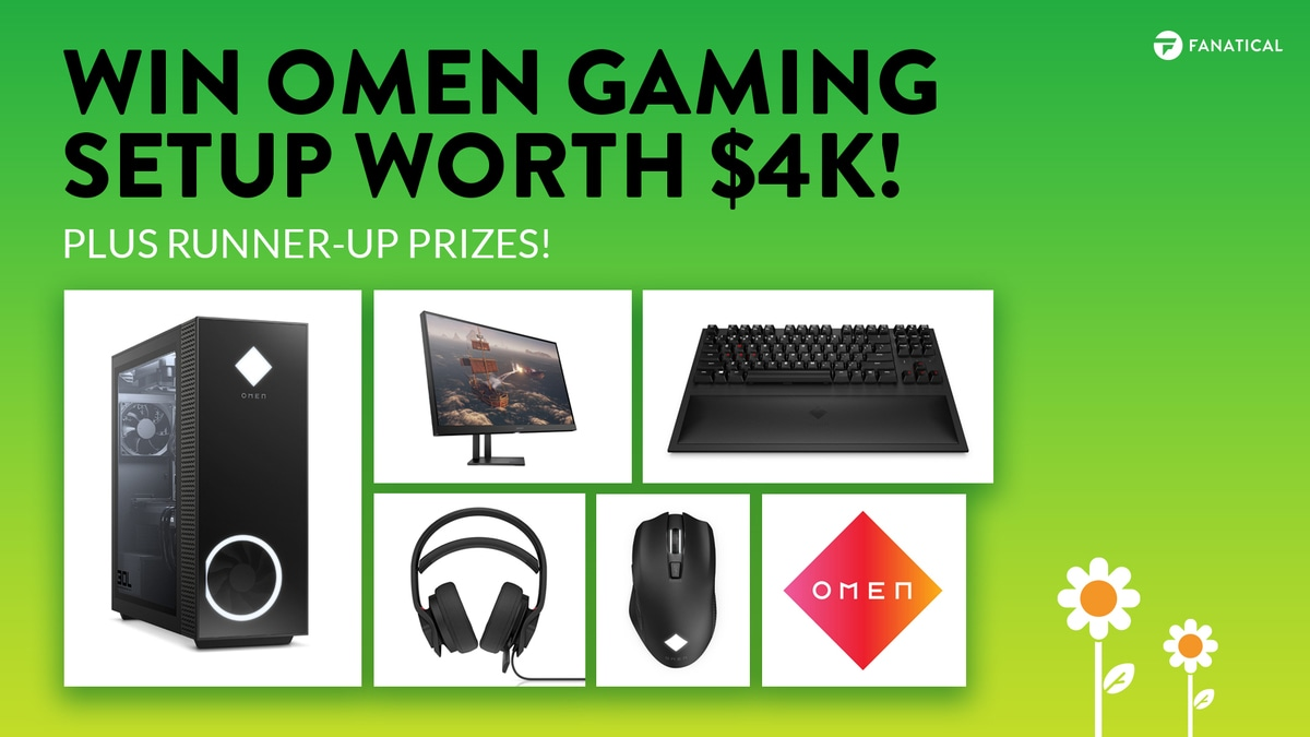 Win OMEN PC gaming setup worth $4k