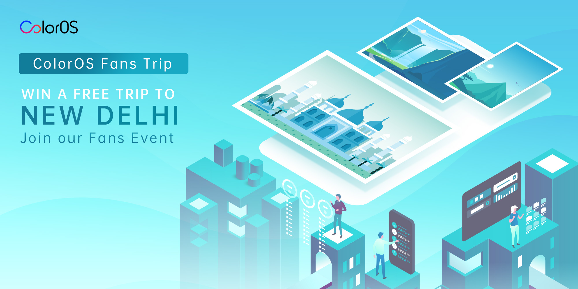 Free Trip to New Delhi for OPPO ColorOS Fans Event