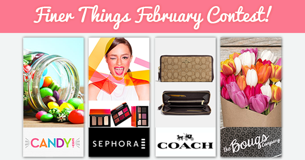 Win a Coach Wallet, candy, Sephora goodies, & MORE!