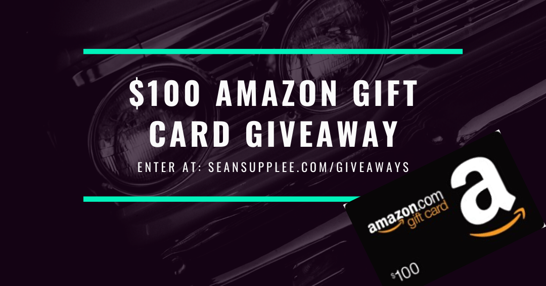 Enter to WIN a $100 Amazon Gift Card Giveaway Image