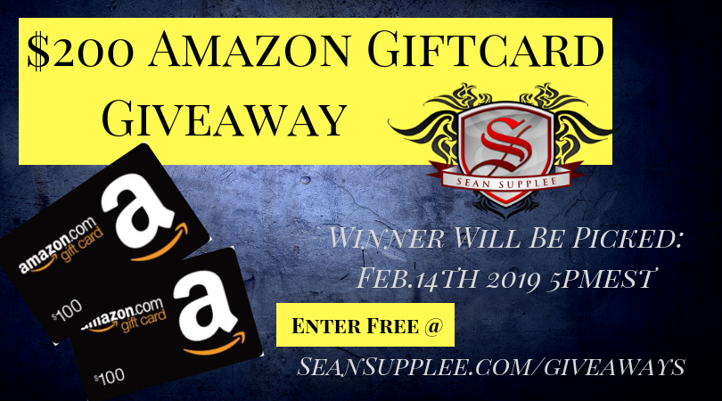 Win a $200 Amazon Gift Card!  some exclusions Giveaway Image