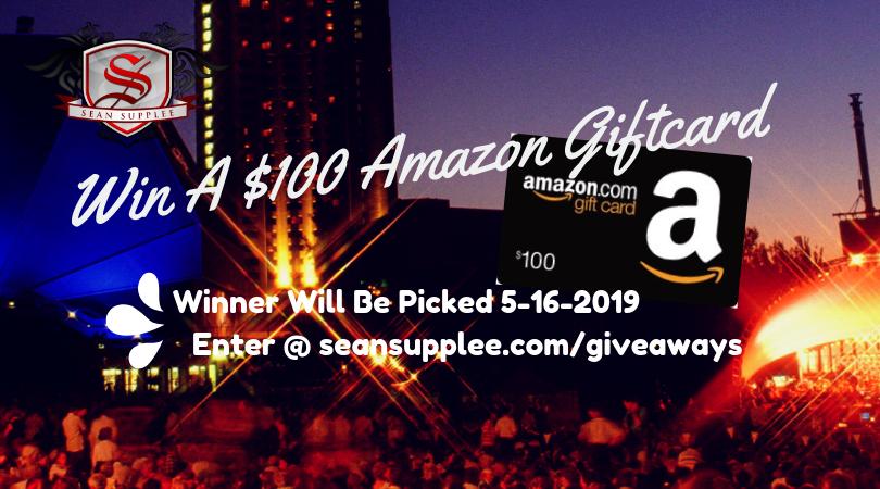 $100 Amazon GiftCard Giveaway Image