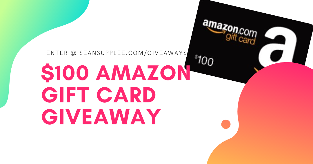 Win a $100 Amazon Gift Card! Giveaway Image