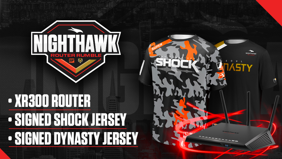 Nighthawk Router Rumble Giveaway Giveaway Image