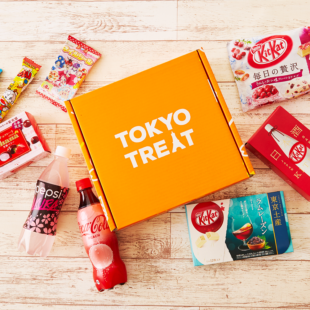 Japanese Box Snacks and Drinks:17 quality Japanese snacks, drink, party pack, anime snack. (KitKat, Coca Cola Peach, etc) Giveaway Image