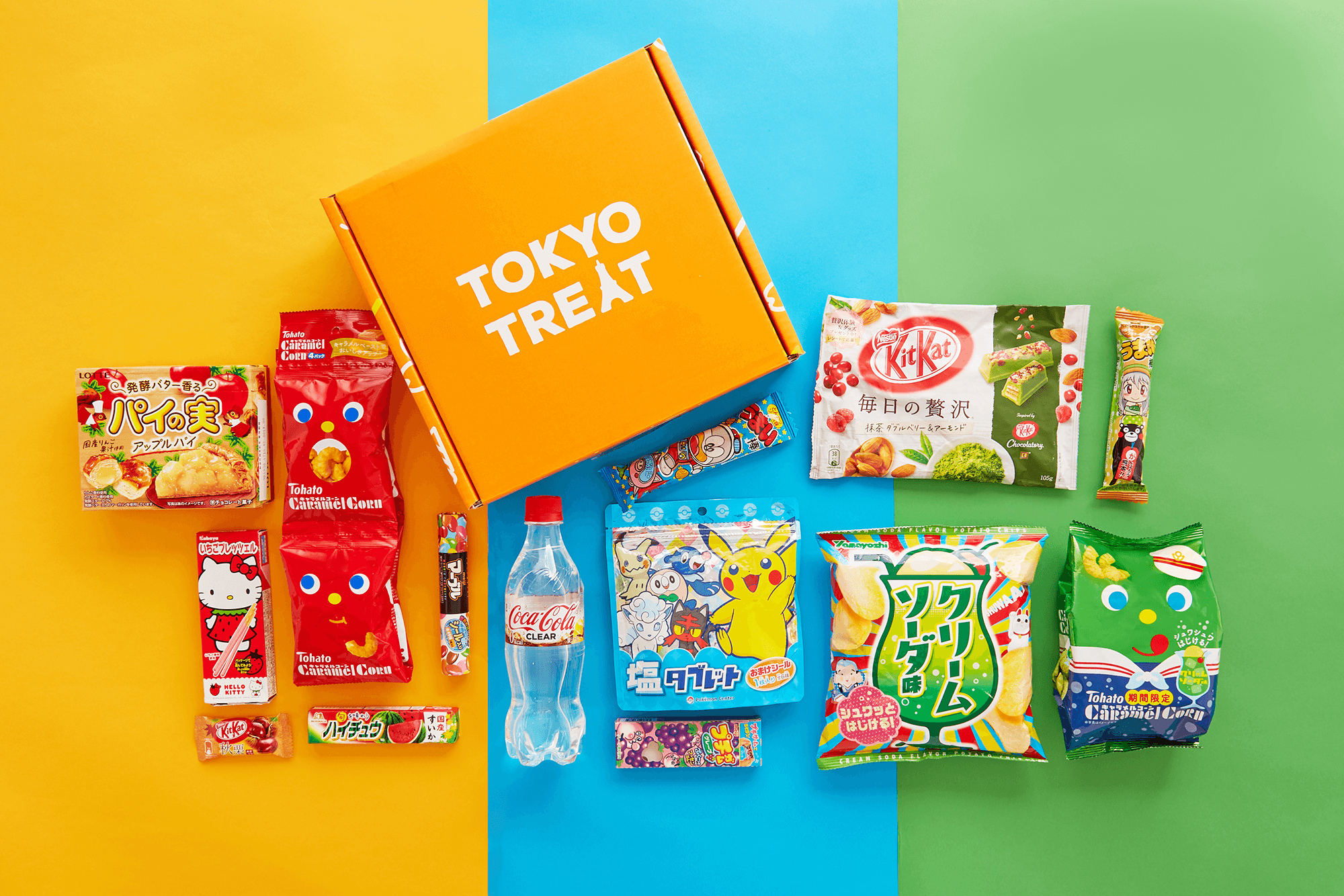Win FREE TokyoTreat Premium subscription! (Each box contains 17 quality Japanese treats including popular Japanese snacks, drink, party pack, anime snack) Giveaway Image