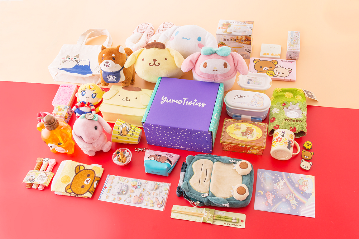 10 WINNERS JAPAN BOX: win a FREE YumeTwins box containing 5 high quality kawaii items ranging from adorable plushies and squishies, collectible figures, stationery and lifestyle goods! Giveaway Image