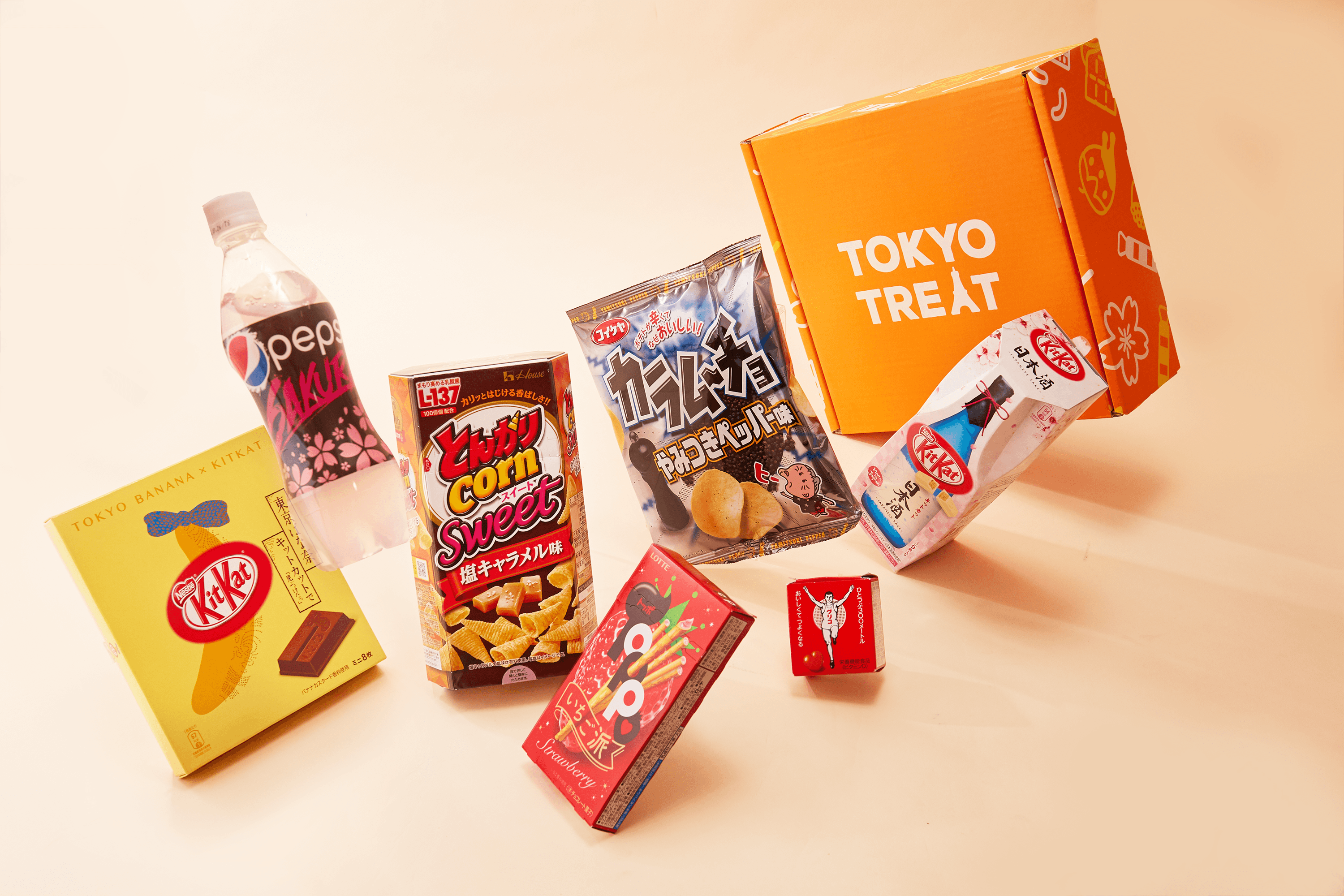 10 Winners:TokyoTreat Box-Each box contains 17 quality Japanese treats including popular Japanese snacks, drink, party pack, anime snack and the other yummy snacks Giveaway Image
