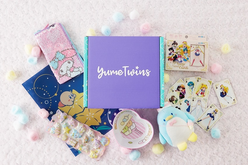 Win a free YumeTwins box containing plushies and other cute items Giveaway Image