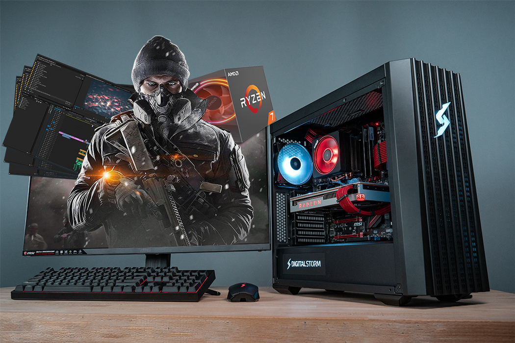 Win Digital Storm Lynx Gaming PC Giveaway Image