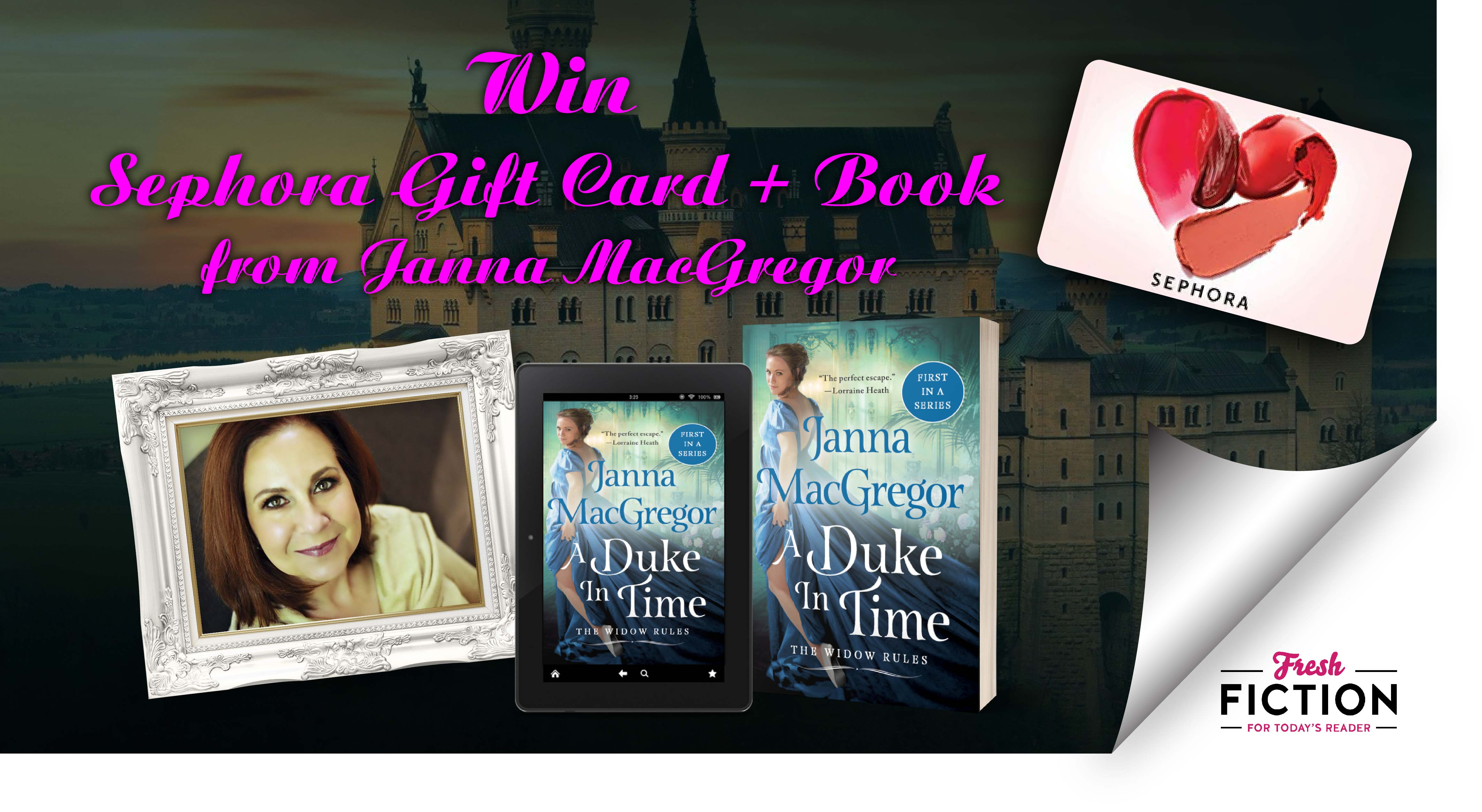 From Bridgertons to Cavenshams – Enter Janna MacGregor's Regency-Lovers Giveaway including Sephora gift card!