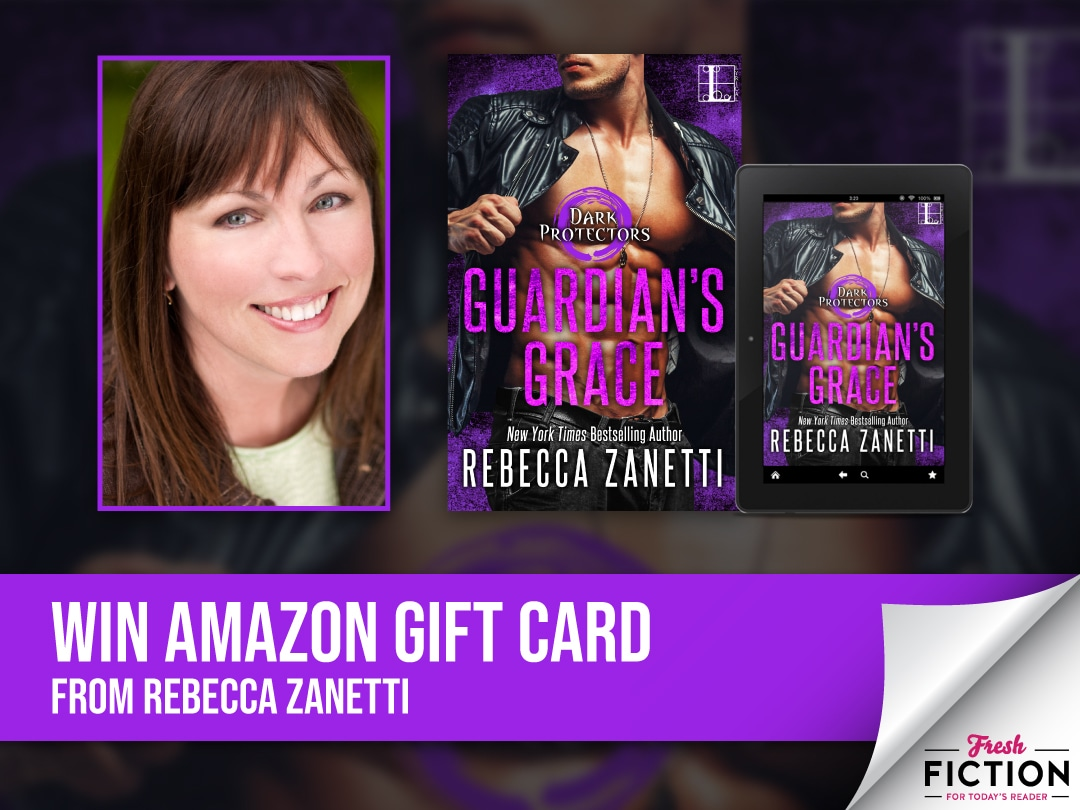 Rebecca Zanetti - Win a $25 e Gift Card (winner's choice of book stores) Giveaway Image