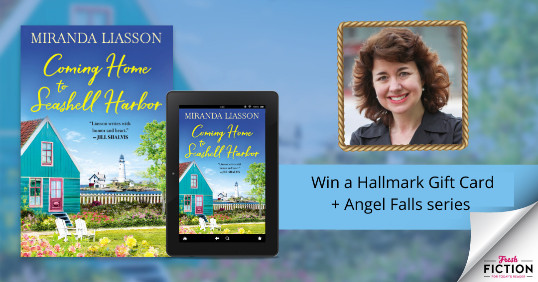 Miranda Liasson -Win a $25 Hallmark Gift Card plus e-book copies of all three Angel Falls novels. Giveaway Image