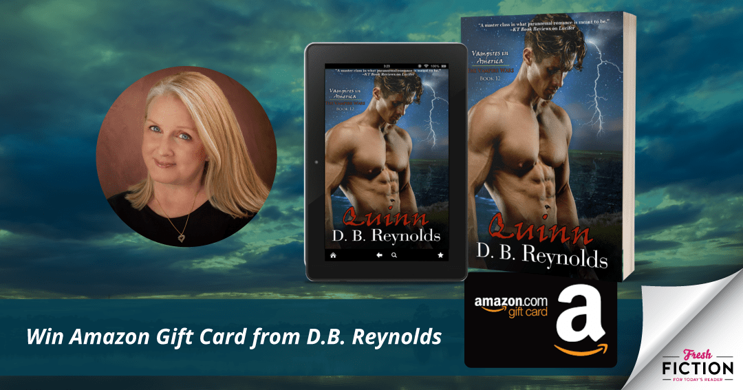 Travel with D.B. Reynolds to meet the first of her Vampires in Europe: QUINN