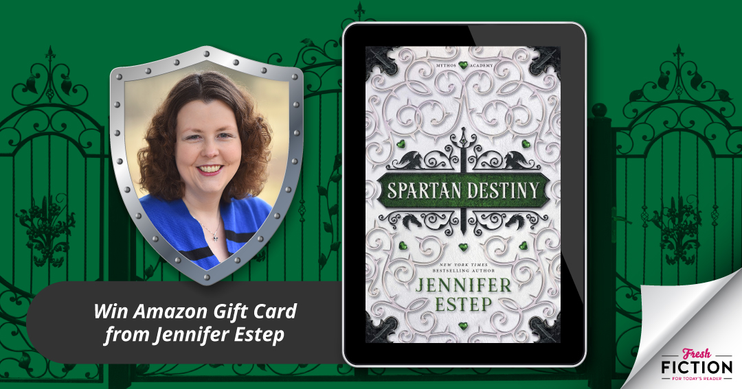 Enter to win a $10 Amazon Gift Card from author Jennifer Estep Giveaway Image