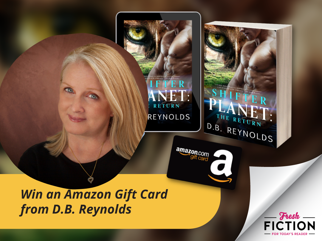 DB Reynolds - Win a $15 Amazon gift card! Giveaway Image