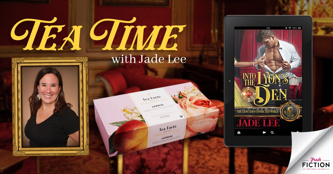 Enjoy a Very Regency February with gourmet teas and Into the Lyon's Den by Jade Lee!