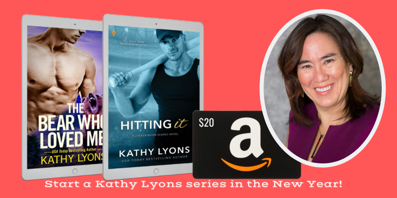 Kathy Lyons - Win a eBook plus a $20 Amazon Gift Card! Giveaway Image