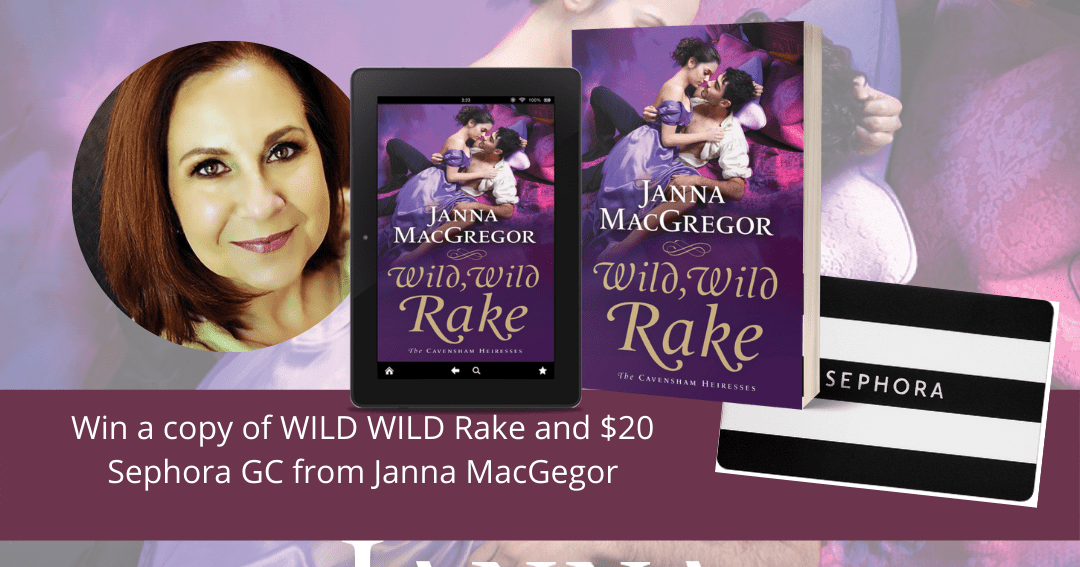 Janna MacGregor - Win a copy of Wild, Wild Rake and a $20 Sephora card!  Exclusions Giveaway Image
