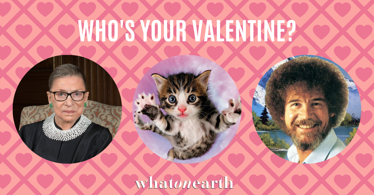 Who's Your Valentine? - Win 1 of 3 Valentines prize packs Giveaway Image