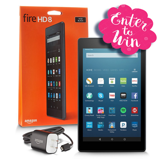 Bookzio Kindle Fire HD8 March Giveaway