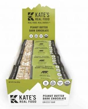 Kate's Real Food Bars Giveaway Image