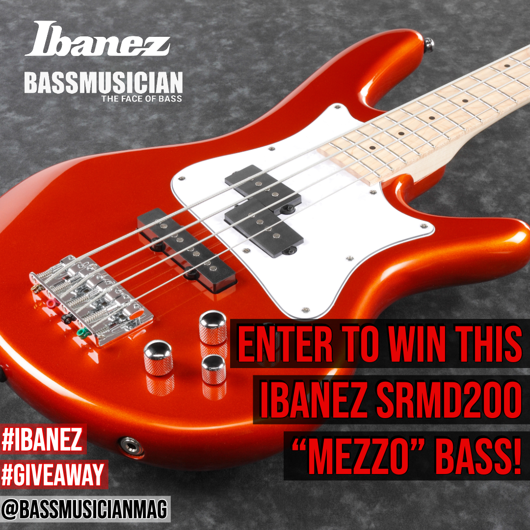 "Enter To Win This Ibanez Srmd200 ""mezzo"" Bass!"