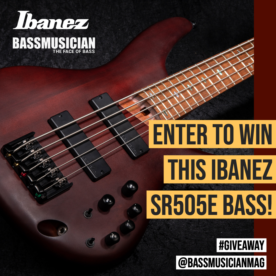 Enter to Win This Ibanez SR505E Bass!  Excludes AK and HI Giveaway Image