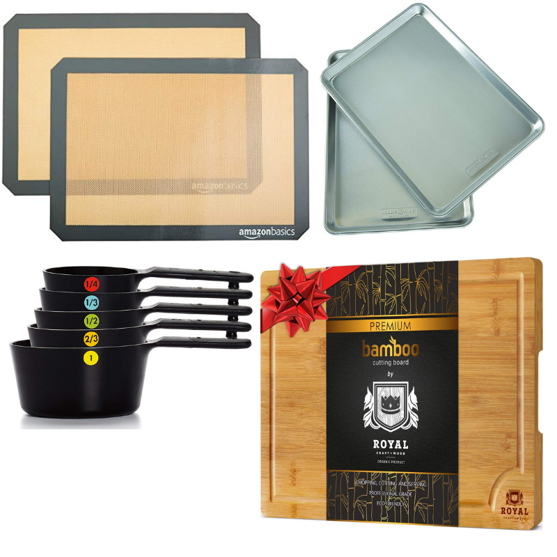Whole30 Prep Package - includes Baking Sheets, Silpat Sheets, Measuring Cups and Cutting Board Giveaway Image