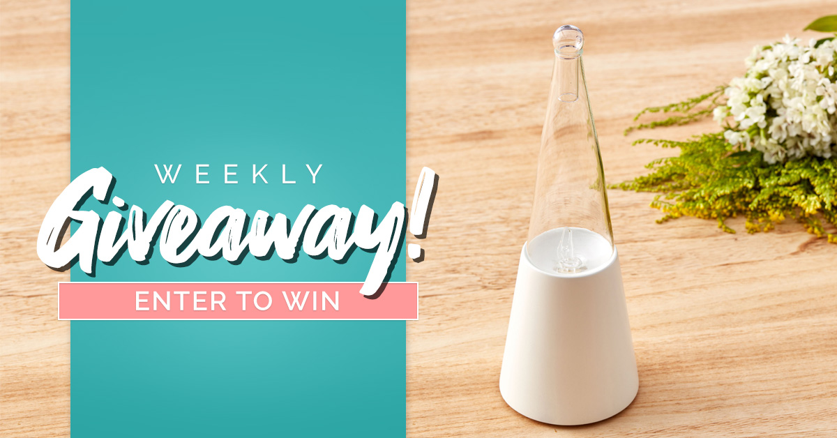 The Exquisite Nebulizing Essential Oil Diffuser Giveaway Giveaway Image