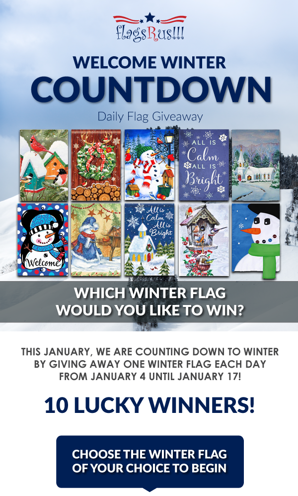 Welcome WInter Countdown Giveaway