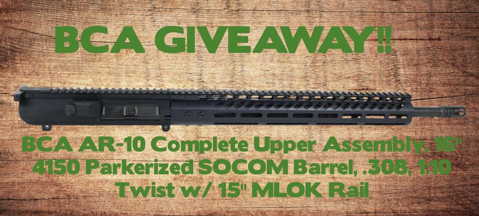 Complete Upper Assembly Giveaway! Giveaway Image