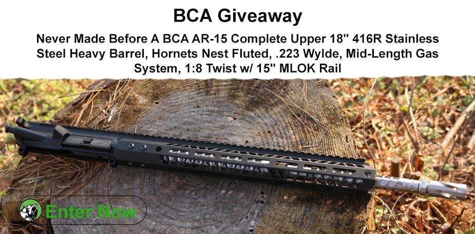 BCA .223 Wylde Complete Upper Giveaway ($350 VALUE) Giveaway Image