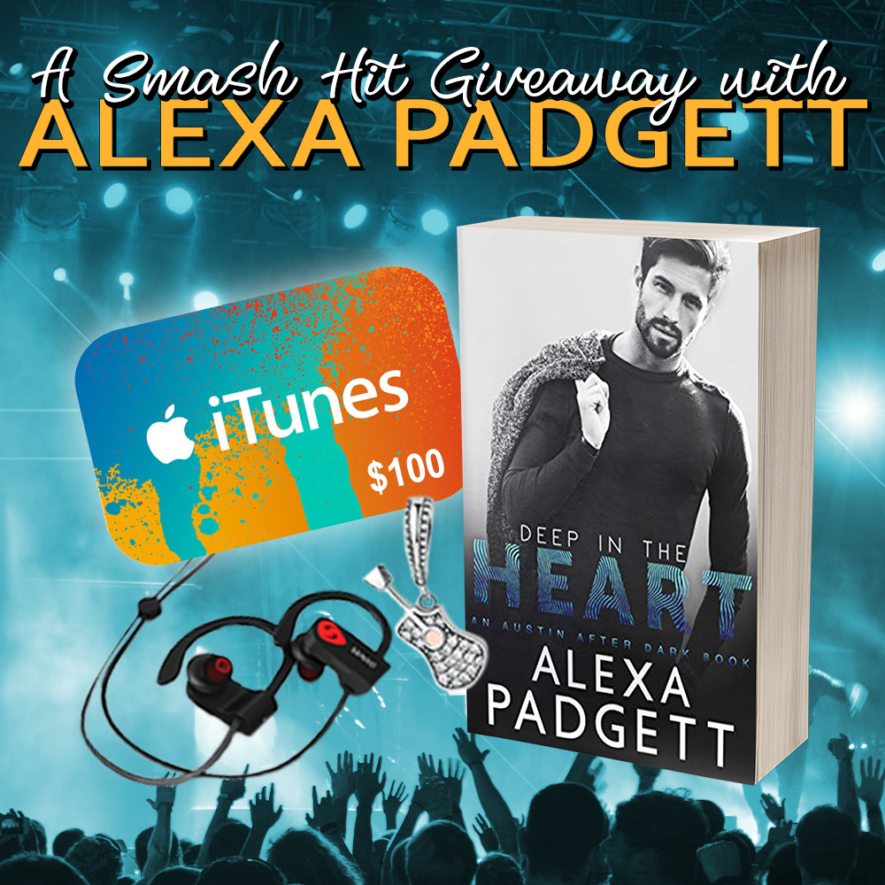 A Smash Hit Giveaway with Alexa Padgett