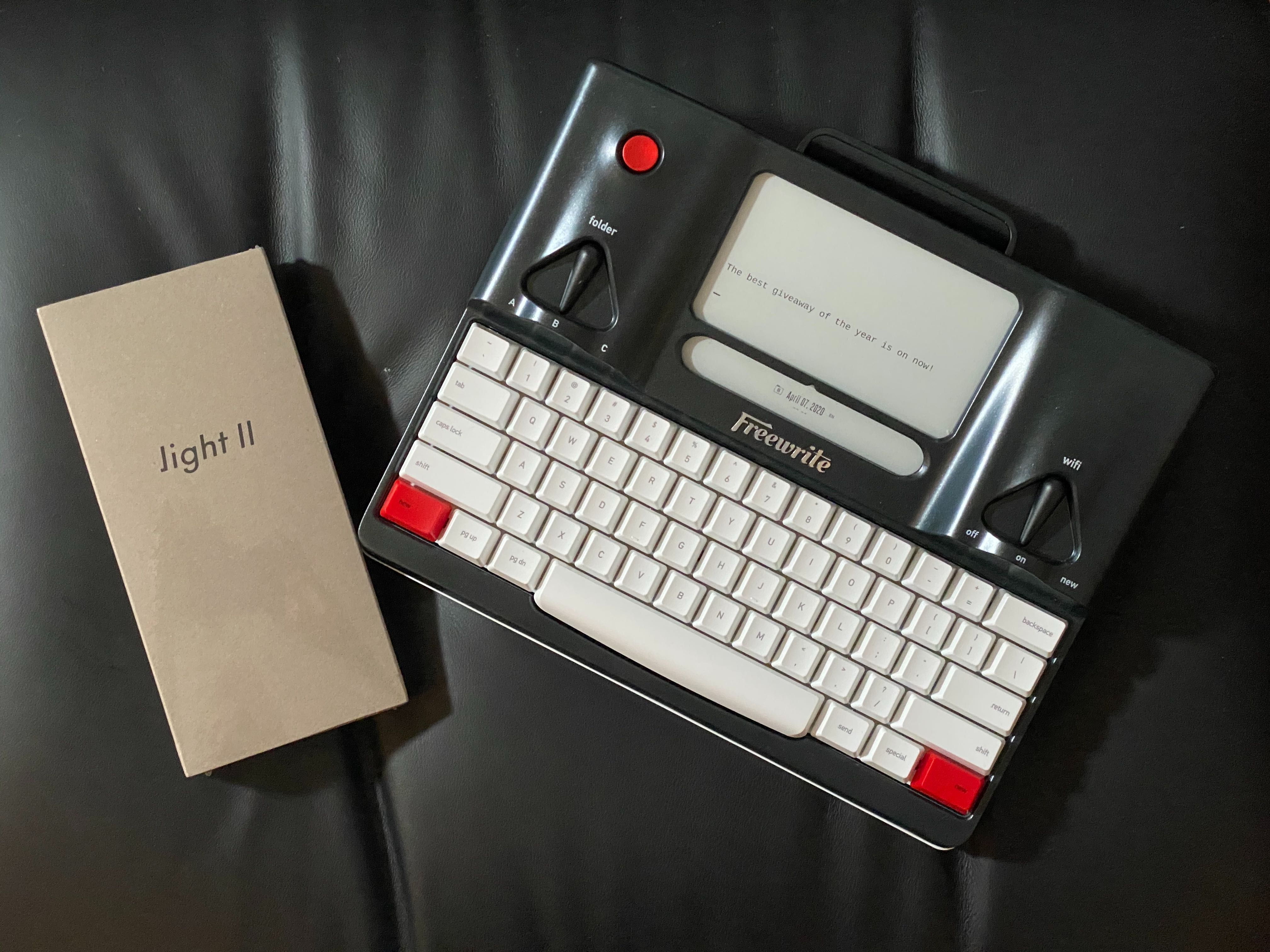 Freewrite + Light II Phone Giveaway by Astrohays