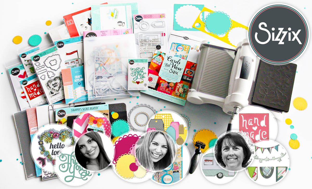 Sizzix $2500 (5 Winner) Ultimate Giveaway