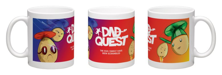 10 Dad Quest Easter Mugs Up For Grabs!