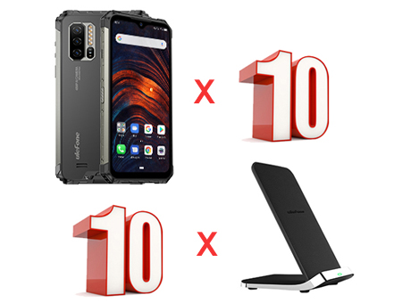 Giveaway 10x smartphones and 10x Wireless Chargers! Giveaway Image