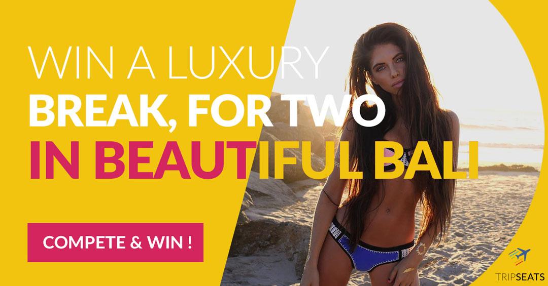 Win a Luxurious Seven-Night Bali Break