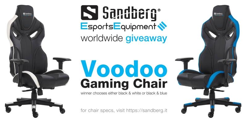 Voodoo Gaming Chair Giveaway Giveaway Image