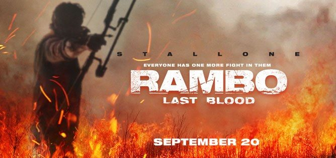 Rambo: Last Blood Prize Pack Giveaway Giveaway Image