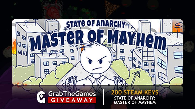 Free Steam Keys State of Anarchy: Master of Mayhem <