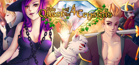25 Epic Quest of the 4 Crystals Steam keys <
