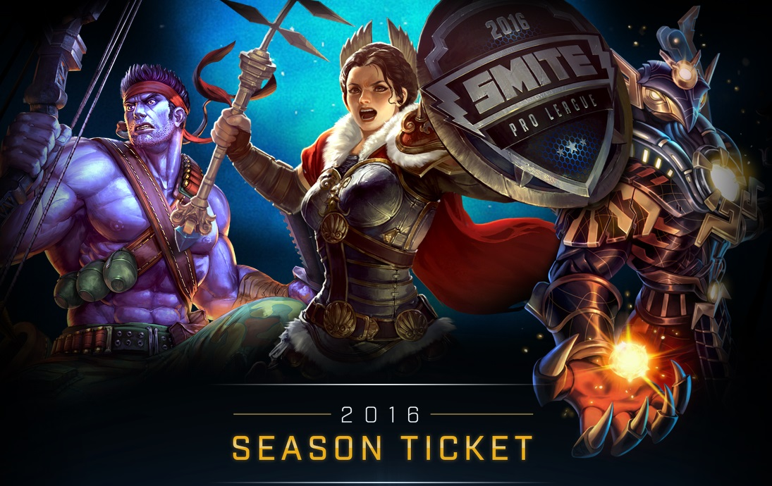 20  Smite 2016 Season Ticket for PC PS4 or XBOX ONE<