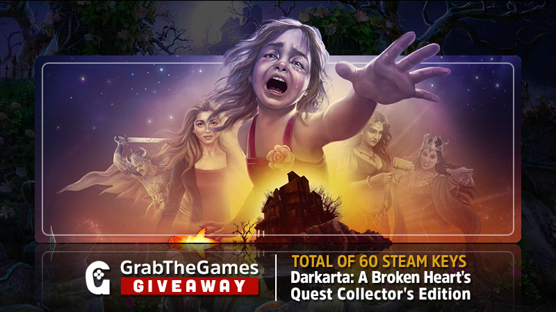 60 Darkarta: A Broken Heart's Quest Collector's Edition Steam Keys <