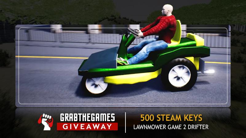 Free Steam Keys Lawnmower Game 2: Drifter<